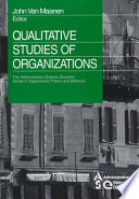 Qualitative Studies of Organizations