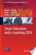 Smart Education and e Learning 2016