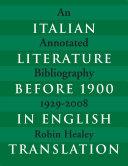 download ebook italian literature before 1900 in english translation pdf epub