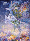 Josephine Wall   Soul of a Unicorn Pocket Diary 2018