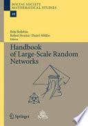 Handbook of Large Scale Random Networks