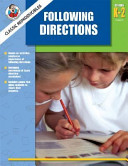 Following Directions  Grades K 2