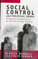 Social Control and Political Order