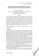 A Multi Criteria Decision Making Method Using Power Aggregation Operators For Single Valued Neutrosophic Sets