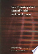 New Thinking about Mental Health and Employment