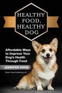 Healthy Food Healthy Dog