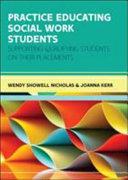 Practice Educating Social Work Students