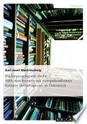 Bildungssackgasse droht: BHS-Absolventen mit europakonformer tertiärer Betriebspraxis in Österreich