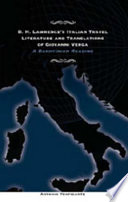 D.H. Lawrence's Italian Travel Literature and Translations of Giovanni Verga
