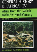 download ebook general history of africa: africa from the twelfth to the sixteenth century pdf epub