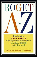 Roget A to Z