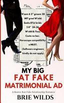 Book My Big Fat Fake Matrimonial Ad