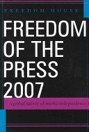Freedom of the Press 2007