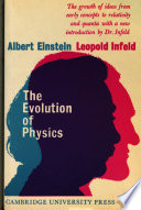 The Evolution of Physics