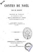 Contes de Noel par Ch. Dickens
