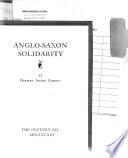 Anglo Saxon Solidarity