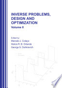 Inverse Problems  Design and Optimization   vol  2