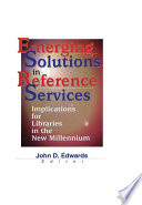 Emerging Solutions In Reference Services book