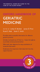 Oxford Handbook of Geriatric Medicine 3e
