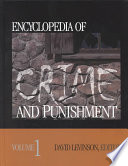Encyclopedia of Crime and Punishment