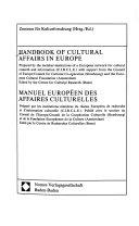 Handbook of Cultural Affairs in Europe