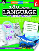 180 Days of Language for Sixth Grade  Practice  Assess  Diagnose