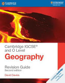 Cambridge IGCSE   and O Level Geography Revision Guide