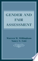 Gender and Fair Assessment