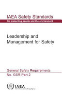 Leadership and Management for Safety