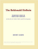 The Beldonald Holbein Webster S French Thesaurus Edition