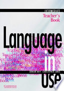 Language In Use Split Edition Intermediate Self Study Workbook A With Answer Key