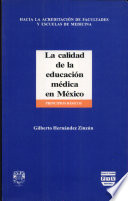 La calidad de la educación médica en México