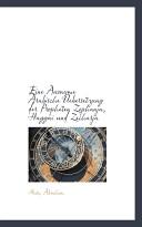 Eine Anonyme Arabische Uebersetzung Der Propheten Zephanja, Haggai Und Zecharja