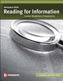 Workplace Skills  Reading for Information  Student Workbook