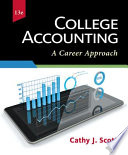 College Accounting  A Career Approach