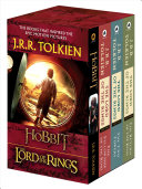 J  R  R  Tolkien 4 Book Boxed Set  the Hobbit and the Lord of the Rings  Movie Tie In