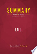 Summary  I O U  Book PDF