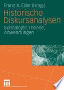 Historische Diskursanalysen