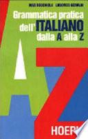 Grammatica pratica dell italiano dalla A alla Z
