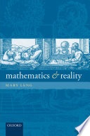 Mathematics and Reality