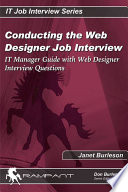Conducting the Web Designer Job Interview