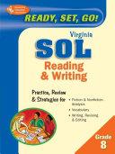 Virginia SOL  Reading and Writing  Grade 8