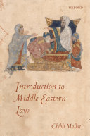Introduction to Middle Eastern Law