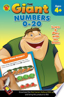 Giant  Numbers 0  20 Activity Book  Ages 4   5