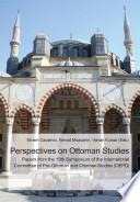 Perspectives on Ottoman Studies