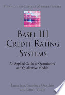 Basel III Credit Rating Systems