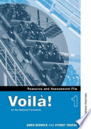 Voila! 1 Resource and Assessment File To Enjoy Language Learning Voil Provides