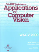 Fifth IEEE Workshop on Applications of Computer Vision