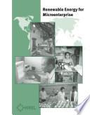 Renewable Energy for Microenterprise