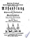 Anselm Desings Abhandlung von den Gütern und Einkünften der Geistlichkeit bey allen Nationen